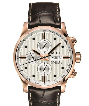 Adhering to the essence of the original ones, this black second hand fake Mido watch realize the fine carving in the production process and the ultimate pursuit in performance.