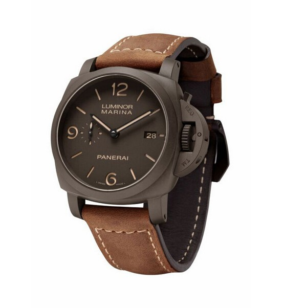 This chocolate fake Panerai watch has become the final persuit of Panerai.