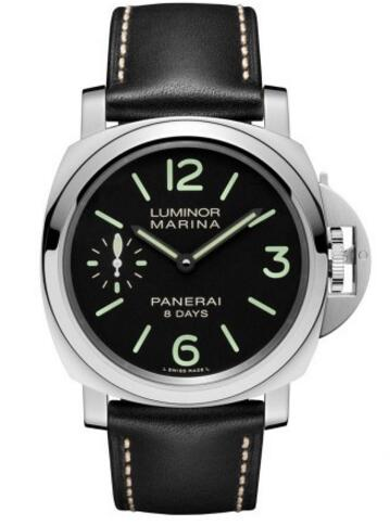 Adhering to the traditional design of Panerai, with the classical case and unique sharp, this steel case replica Panerai watch creates us a concise, elegant and masculine design style.