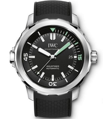With simple but bold design, this replica IWC watch just easily catches people's attention.