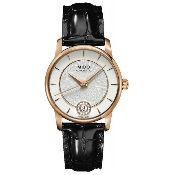 With the combination of black and gold, this replica Mido watch also leaves people a deep impression.