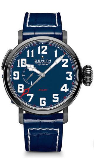 Zenith copy watches with blue dials are quite outstanding.