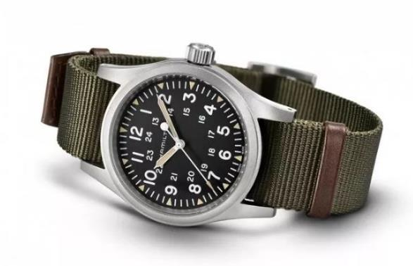 Military fake Hamilton watches are suitable for men.