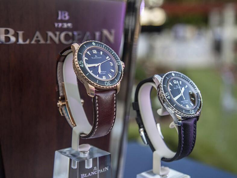 These two timepieces are classic and luxury.