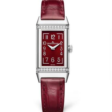 The burgundy dial and strap are amazing.